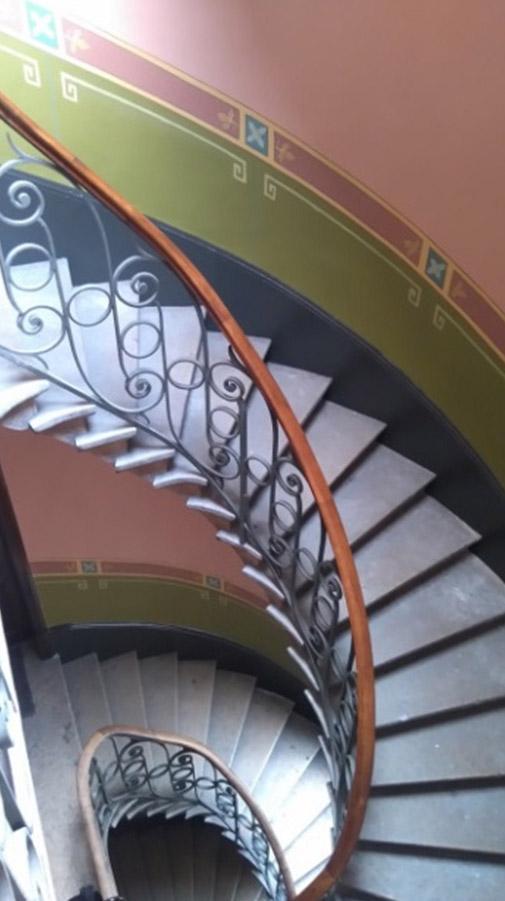 escalier-peinture