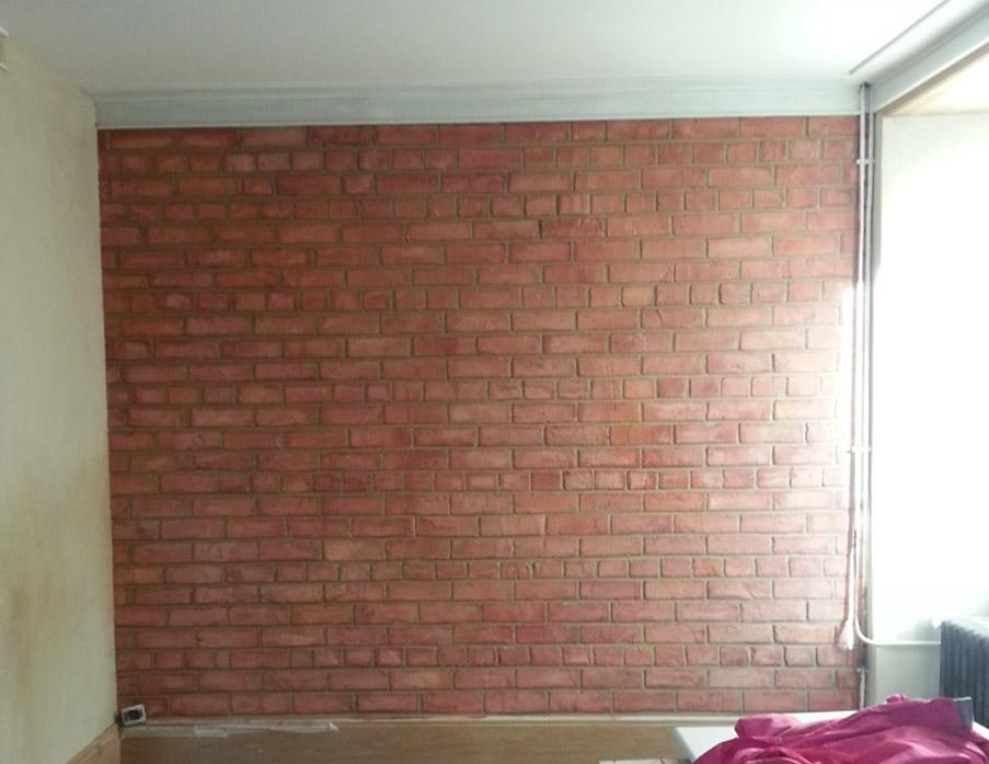 mur-imitation-brique