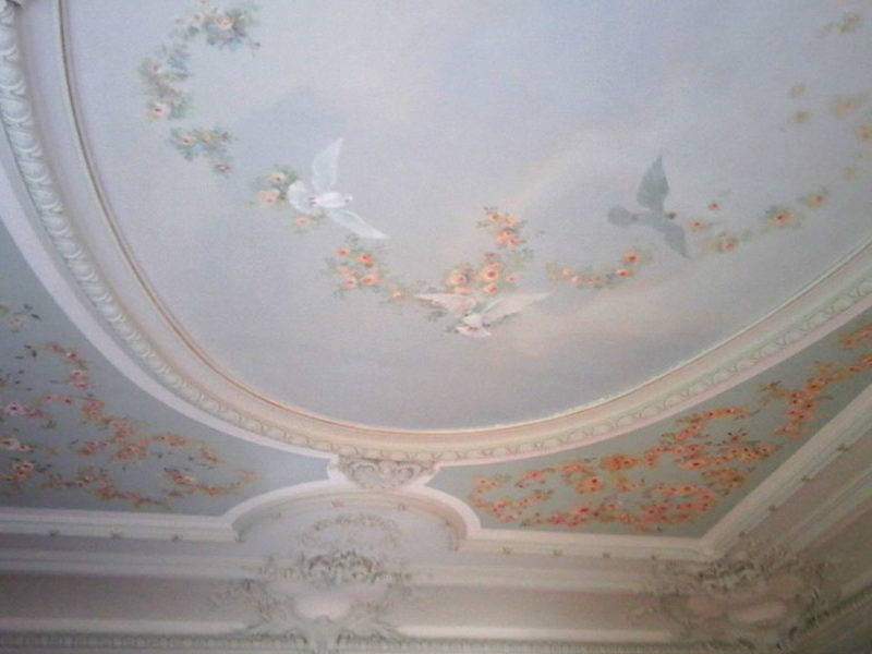 plafond-peint-rénové