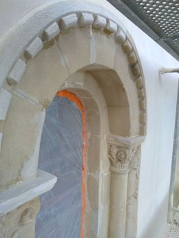 Dôme Restitution de 100% des décors du plafond du dôme Ciel, modelés, frises, panneaux…