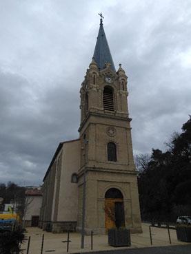 Restauration de l'Eglise  de châteaux neuf sur Isère